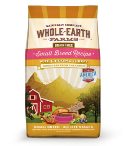 Whole Earth Farms Grain Free Recipe Small Breed Dry Dog Food