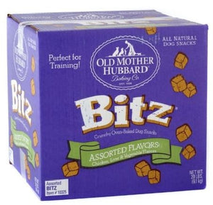 Old Mother Hubbard Bitz Crunchy Classic Assorted Flavor Chicken, Liver and Vegtable Natural Dog Treats