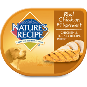 Nature's Recipe Chicken & Turkey in Broth Wet Dog Food