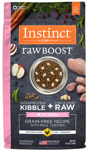 Instinct Raw Boost Toy Breed Grain Free Recipe with Real Chicken Natural Dry Dog Food