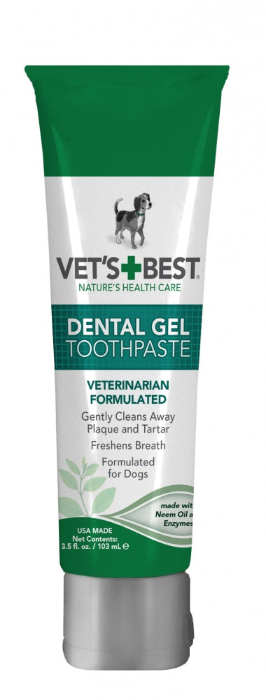 Vet's Best Dental Gel Toothpaste