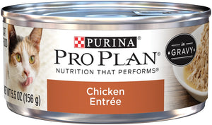 Purina Pro Plan Chicken Entree in Gravy Canned Cat Food