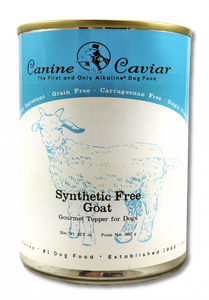 Canine Caviar Grain Free Synthetic Free Goat Recipe Canned Dog Food