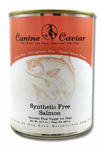 Canine Caviar Grain Free Synthetic Free Salmon Recipe Canned Dog Food