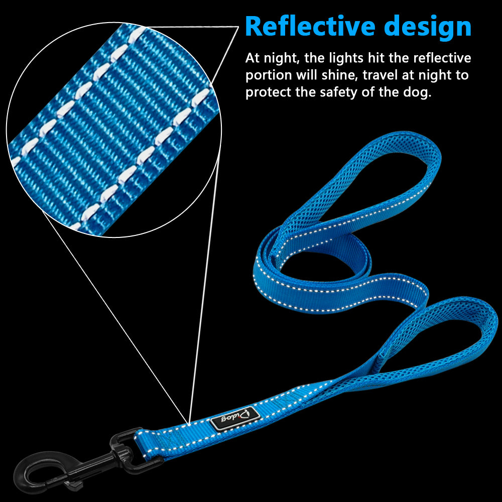 Reflective Dog Harness Leash