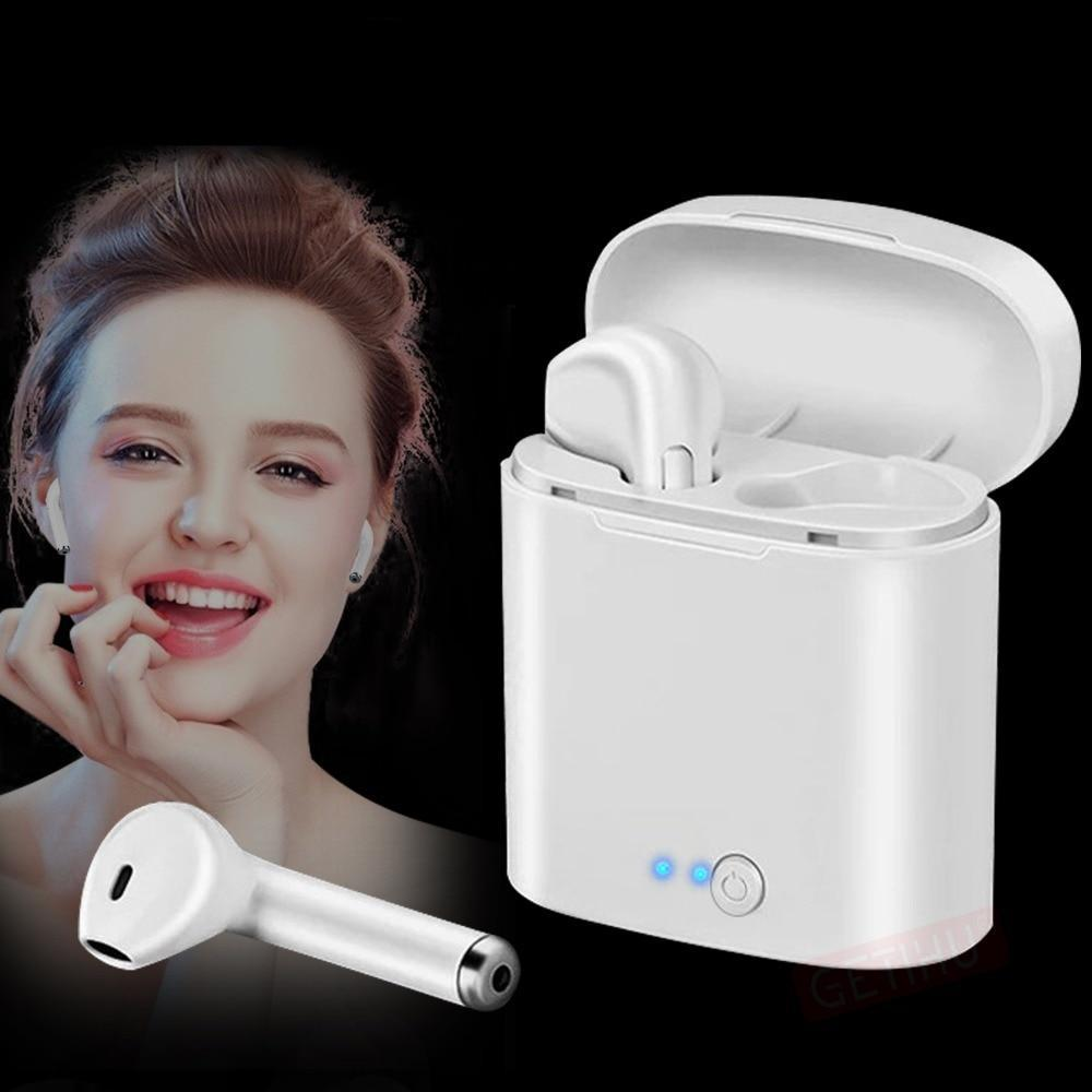 Bluetooth Earphone Phone For iPhone Samsung