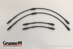 GruppeM Brake Line Set - VOLKSWAGEN GOLF 5 R32 3.2 LITER 2005 - 2009
