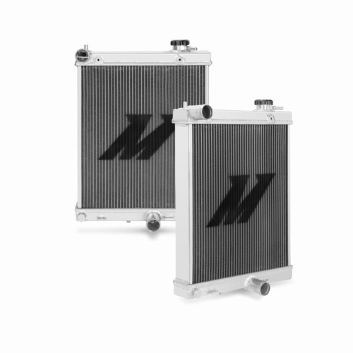 MITSUBISHI EVOLUTION 7/8/9 HALF-SIZE PERFORMANCE ALUMINIUM RADIATOR, 2001-07
