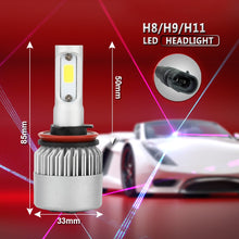 PAMPSEE 12V Car Headlight H4 LED H7 H1 H3 H11 H13 HB1 HB2 HB3 HB4 HB5 9003 9004 9005 9006 9007 72W 8000LM 4300K 6500K 8000K