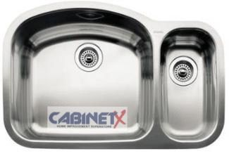 Stainless Steel 1-1/2 Double Bowl Sink