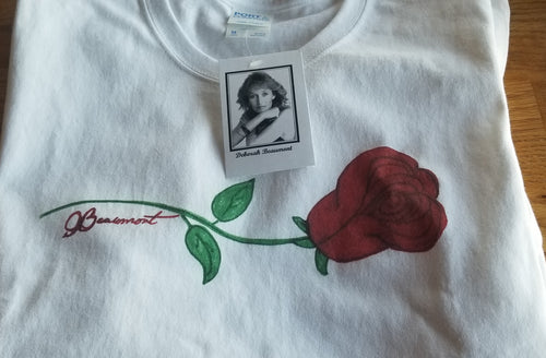 short sleeve rose t-shirt