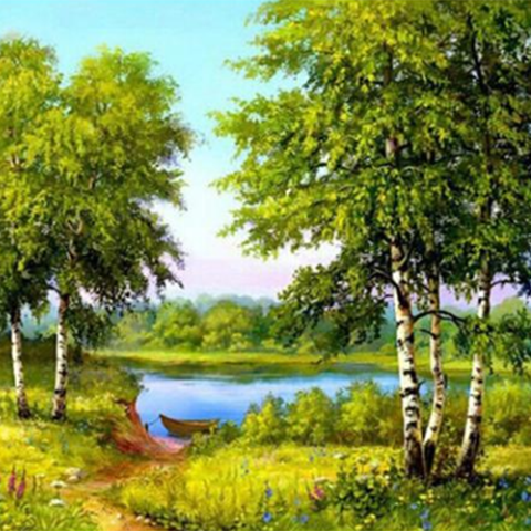 Tree Diamond Painting Kit