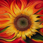 Sunflower Diamond Painting Kit
