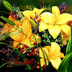 Flower Diamond Painting Kit