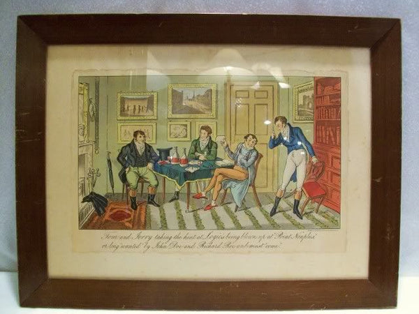 Tom & Jerry George Cruikshank Antique Print