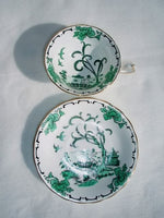 Royal Chelsea Pekin Deco Cups & Saucers