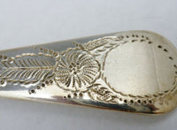 Antique English Georgian Rare William Bateman C.1817 Berry Spoon