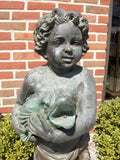 Child with Fish Fountain
