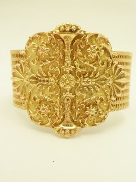 Antique 18k Georgian Buckle Bracelet