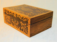 Antique English Marquetry Box