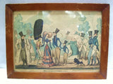 George Cruikshank Antique Colored Print