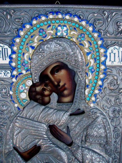Holy Virgin Mother of God Russian Icon