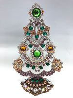 Czech Crystal Christmas Tree Jewel Base # 147