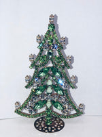 Czech Crystal Christmas Mantle Tree # 190