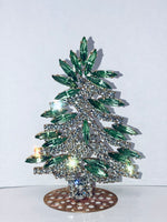 Czech Crystal Mantle Tree # 191