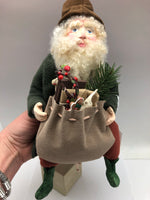 Original Santa With Toy Bag