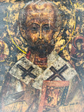 Early Russian Saint Nicholas Icon