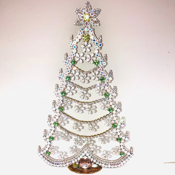Czech Mantle Christmas Tree # 157