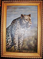 Leopard Oil Painting