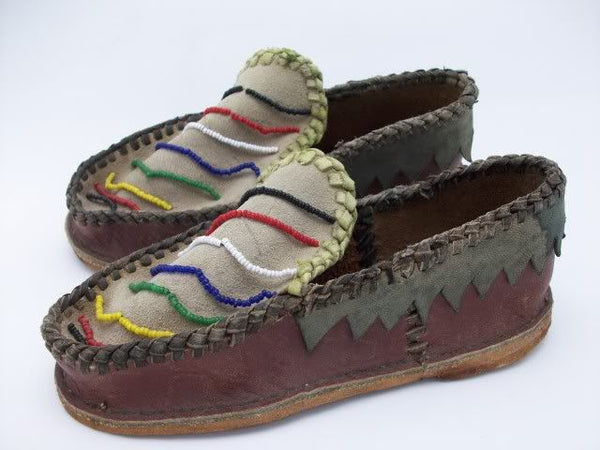 Native American Child's Moccasins