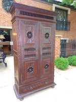 Antique French Provincial Normandy Cabinet