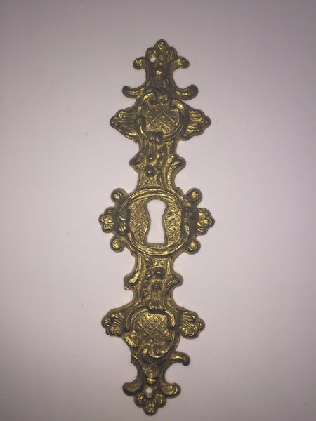 Chinoiserie Solid Brass Key Plate