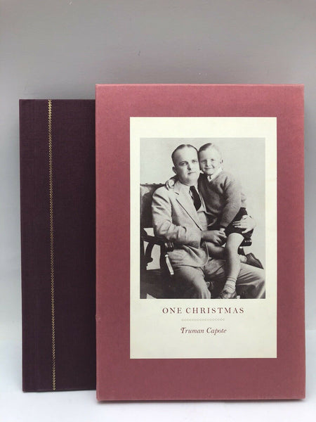 Truman Capote Signed Ltd First Edition One Christmas 1983