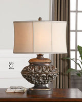 Shahla Bronzed Table Lamp