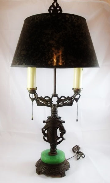 Art Deco Ships Student Lamp