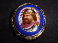 Early Victorian Portrait Brooch