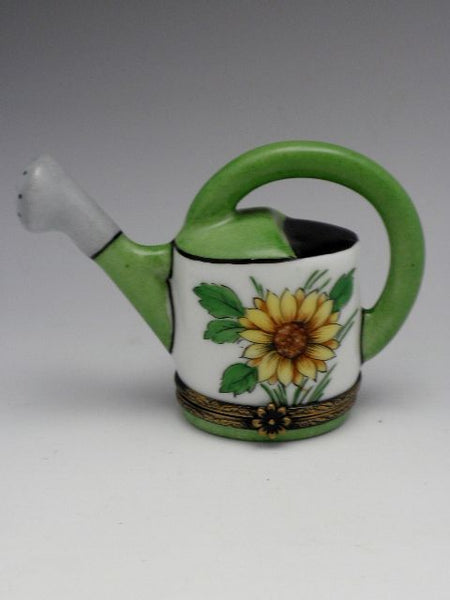 Daisy Watering Can Limoge Box