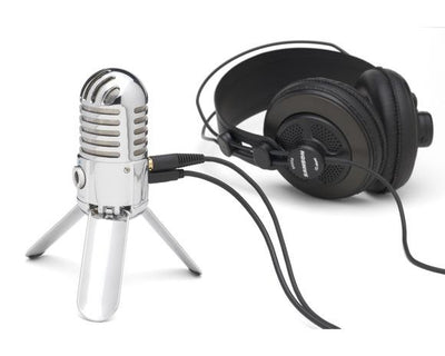 Samson Meteor Mic Studio Recording Condenser Microphone Fold-back Leg with USB Cable