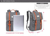 Canvas Laptop Backpacks Large Capacity Fashion Backpack For College & Travel