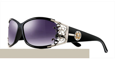 Women Luxury Sunglasses - Vintage Polarized Shades Sunglasses With Packing