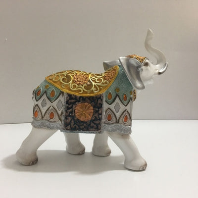 Resin Elephant Statue Crafts Home Decoration European Style