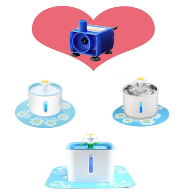 Water Pump Cat Water Fountain Motor Accessories Replacement for Cat Drinking Bowl Water Dispenser