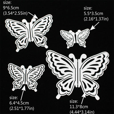 Layering Butterflies Metal Cutting Dies for DIY Scrapbooking/Card Making