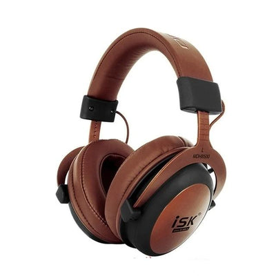 ISK MDH8500 Genuine HIFI Stereo Fully Enclosed Dynamic Headphone Professional Studio Monitor Recording Headphones DJ Headset
