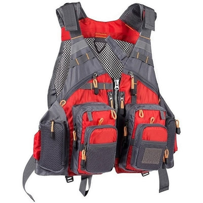 Breathable Fishing Life Vest  Adjustable Vest Fishing Tackle