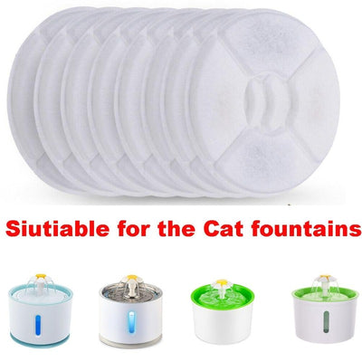 Activated Carbon Filter For Cat Water Drinking Fountain - Replacement Filters For Round Fountain Dispenser